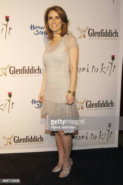 Alexis Glick attends DRESSED TO KILT Fashion Show at M2 Lounge on March 30 2009 in New York City