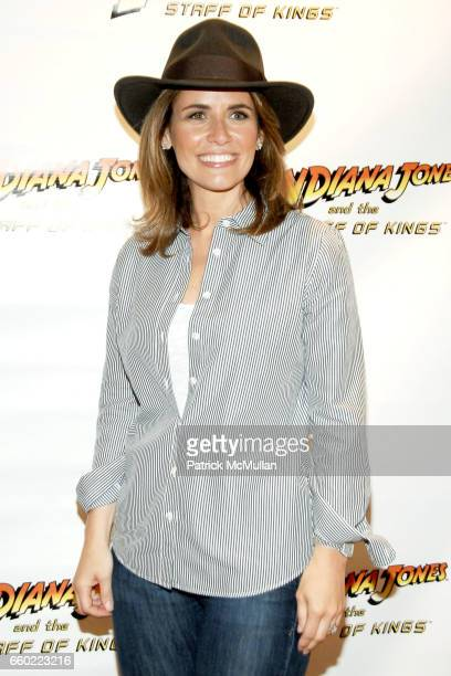 Alexis Glick attends PreRelease Party for LucasArts New Videogame INDIANA JONES and The STAFF OF KINGS at Nintendo World Store on June 8 2009 in New...
