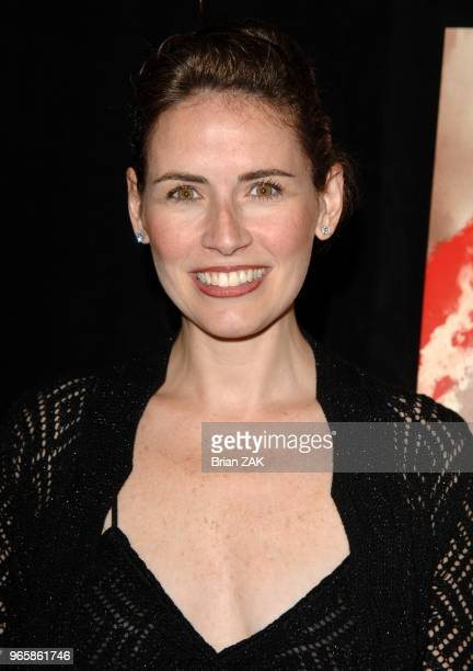Alexis Glick attends the premiere of 'V For Vendetta' held at The Rose Theater at Lincoln Center New York City BRIAN ZAK