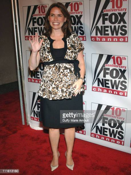 Alexis Glick during FOX News Channel's 10th Anniversary VIP Party Hosted by Rupert Murdoch and Roger Ailes at News Corporation building in New York...
