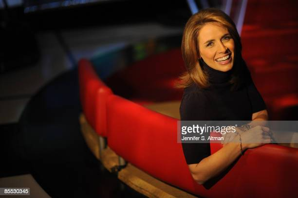 Alexis Glick VP of Fox Business Channel and anchor of the Opening Bell is photographed for Business Week Magazine