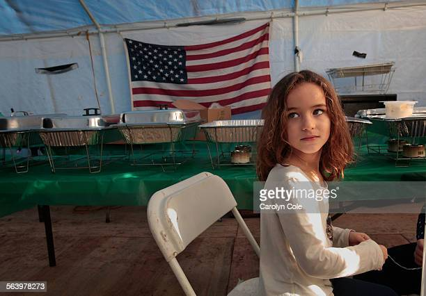 Alexis Gonzalez age 5 and her family have still not moved home after their home was heavily damaged by hurricane Sandy Her mother Lorraine Gonzalez...