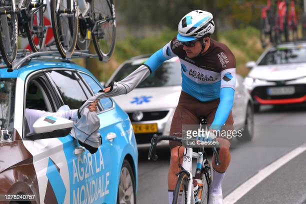 Alexis Gougeard of France and Team Ag2R La Mondiale / Car / during the 16th BinckBank Tour 2020, Stage 5 a 183,6km stage from Ottignies Louvain la...
