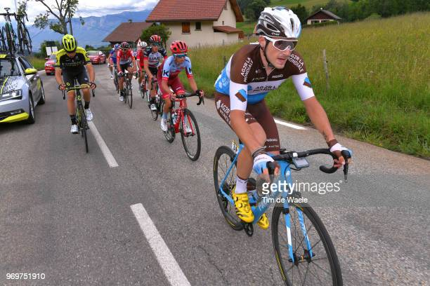 Alexis Gougeard of France and Team AG2R La Mondiale / Carlos Verona of Spain and Team MitcheltonScott / Matteo Fabbro of Italy and Team Katusha...