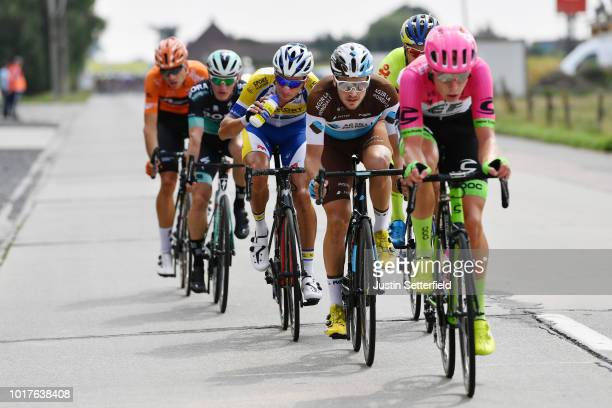 Alexis Gougeard of France and Team AG2R La Mondiale / during the 14th BinckBank Tour 2018, Stage 4 a 166,3km from Blankenberge to Ardooie / BBT / on...