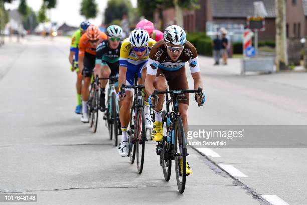 Alexis Gougeard of France and Team AG2R La Mondiale / during the 14th BinckBank Tour 2018 Stage 4 a 1663km from Blankenberge to Ardooie / BBT / on...