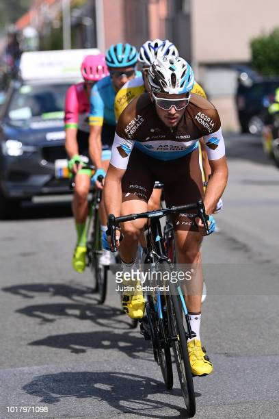 Alexis Gougeard of France and Team AG2R La Mondiale / during the 14th BinckBank Tour 2018 Stage 5 a 2044km stage from SintPietersLeeuw to Lanaken /...