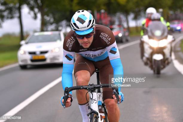 Alexis Gougeard of France and Team Ag2R La Mondiale / during the 16th BinckBank Tour 2020, Stage 5 a 183,6km stage from Ottignies Louvain la Neuve to...