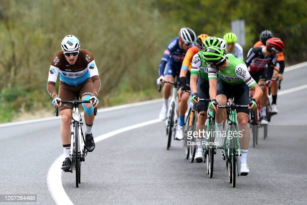Alexis Gougeard of France and Team Ag2R La Mondiale / during the 66th Vuelta a Andalucía - Ruta del Sol 2020, Stage 1 a 173,8km stage from Alhaurín...