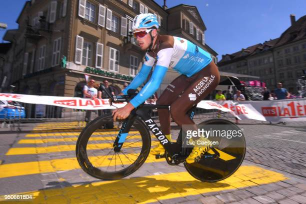 Alexis Gougeard of France and Team AG2R La Mondiale / during the 72nd Tour de Romandie 2018 Prologue a 4km individual time trial stage from Fribourg...