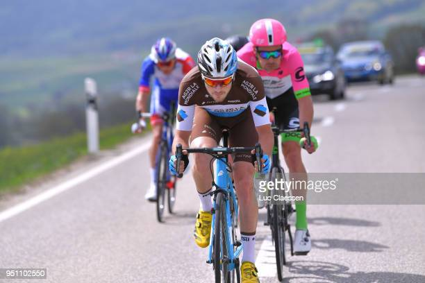 Alexis Gougeard of France and Team AG2R La Mondiale / during the 72nd Tour de Romandie 2018 Stage 1 a 1666km stage from Fribourg to Delemont on April...