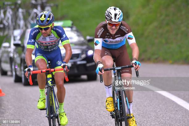 Alexis Gougeard of France and Team AG2R La Mondiale / Marco Minnaard of The Netherlands and Team WantyGroupe Gobert / during the 72nd Tour de...