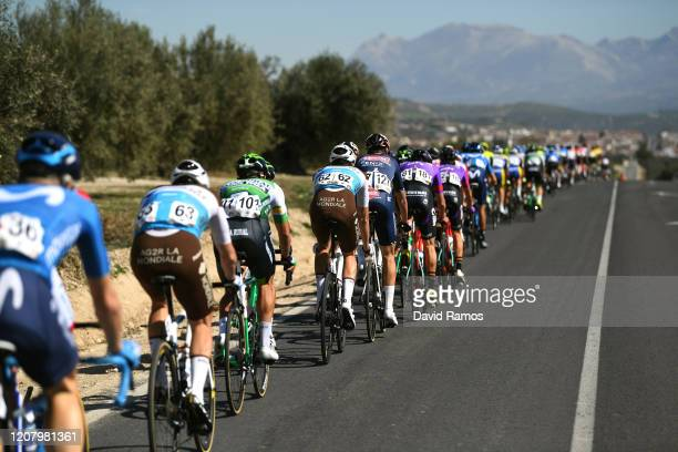 Alexis Gougeard of France and Team Ag2R La Mondiale / Orluis Aular and Team Caja Rural - Seguros RGA / Lawrence Naesen of Belgium and Team Ag2R La...