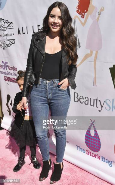 Alexis Haines attends BRAVO'S Stripped TV Personality and Celebrity Fashion Stylist Expert Ali Levine's Pink Carpet Baby Shower at Rockwell Table...