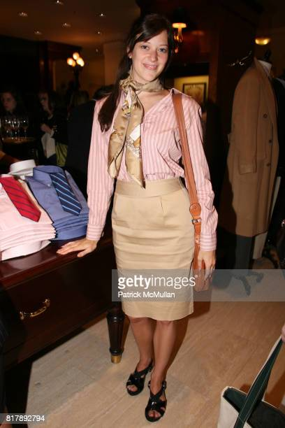 Alexis Horn attends The launch of True Prep at Brooks Brothers on September 14 2010 in New York
