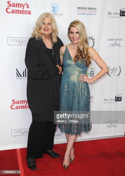 Alexis Hunter and Kathy Kolla arrive for the Film Fest LA At LA Live Kash Hovey Friends held at Regal Cinemas LA LIVE Stadium 14 on November 10 2018...