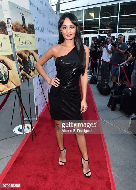 Alexis Joy attends the premiere of Magnolia Pictures' 'Damsel' at ArcLight Hollywood on June 13 2018 in Hollywood California