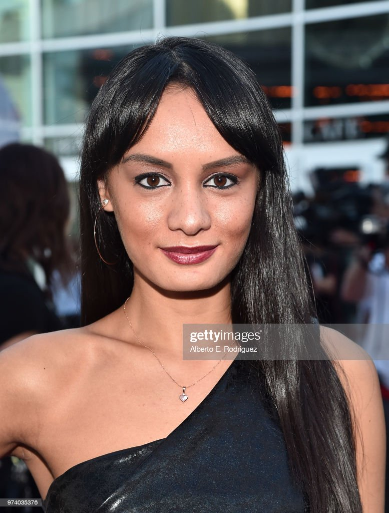 Alexis Joy attends the premiere of Magnolia Pictures' 'Damsel' at ArcLight Hollywood on June 13, 2018 in Hollywood, California.
