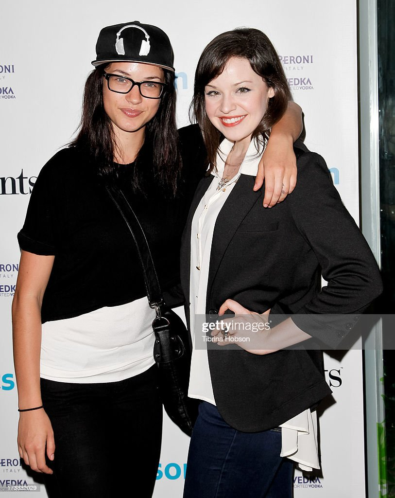 Alexis Knapp and Shelley Regner attend the Gents at Kitson launch event at Kitson on Roberston on July 11, 2013 in Beverly Hills, California.