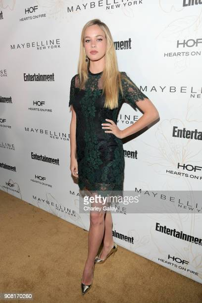 Alexis Knapp attends Entertainment Weekly's Screen Actors Guild Award Nominees Celebration sponsored by Maybelline New York at Chateau Marmont on...