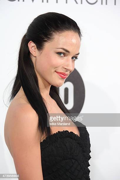 Alexis Knapp attends the Calvin Klein party during the 68th annual Cannes Film Festival on May 18 2015 in Cannes France