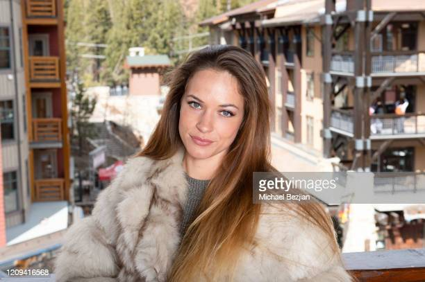 Alexis Knapp poses for portrait at 3rd Annual Mammoth Film Festival Portrait Studio – Friday on February 28, 2020 in Mammoth Lakes, California.