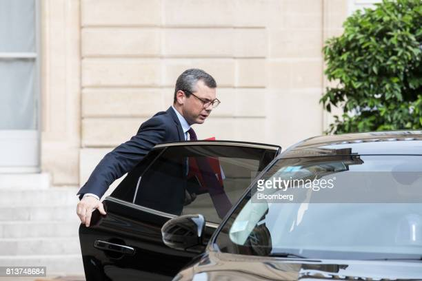 Alexis Kohler France's presidential chief of staff arrives for a FrancoGerman joint cabinet meeting at the Elysee Palace in Paris France Thursday...