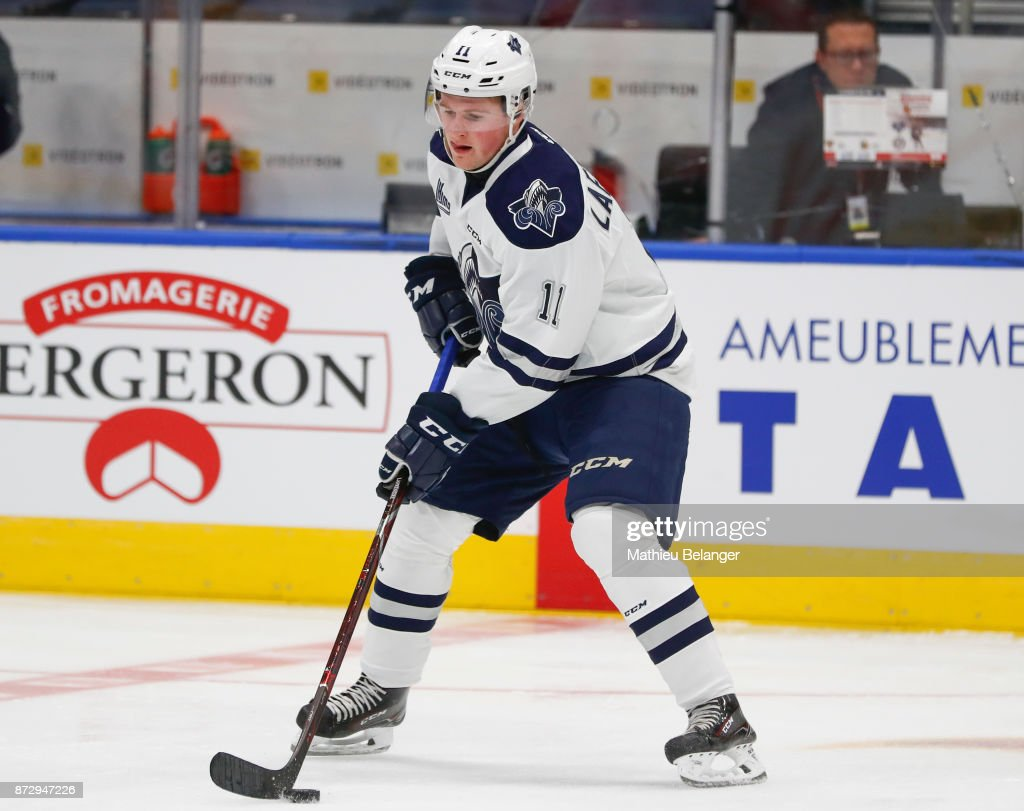 Rimouski Oceanic v Quebec Remparts : News Photo