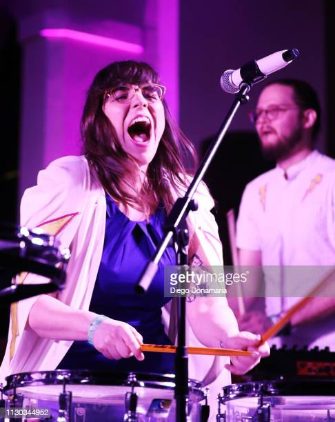 Alexis Marceaux of Sweet Crude performs onstage at Verve Music Group during the 2019 SXSW Conference and Festivals at Bethel Hall at St David's...