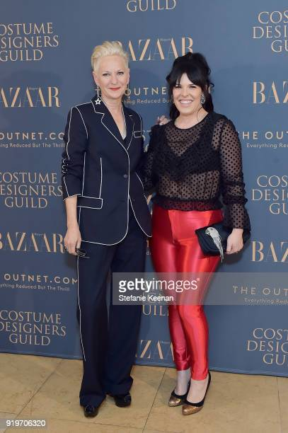 Alexis Martin Woodall and Lou Eyrich attend Harper's BAZAAR and the CDG Celebrate Top Costume Designers and Nominees of the 20th CDGA with an Event...