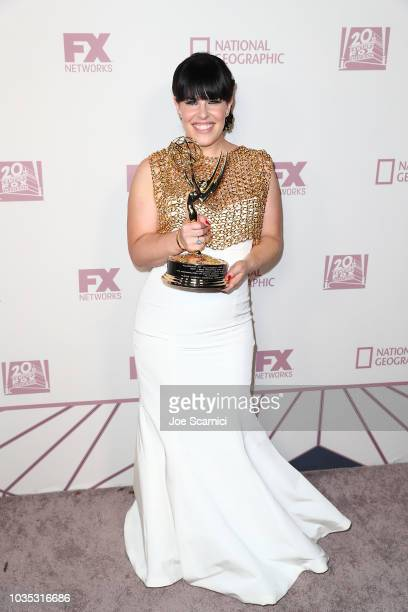 Alexis Martin Woodall arrives at the FOX Broadcasting Company FX National Geographic and 20th Century Fox Television 2018 Emmy Nominee Party at...