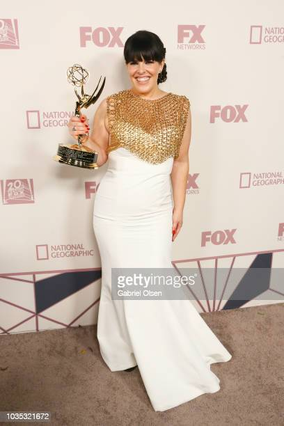 Alexis Martin Woodall arrives for the FOX Broadcasting Company FX National Geographic and 20th Century Fox Television 2018 Emmy Nominee Party at...