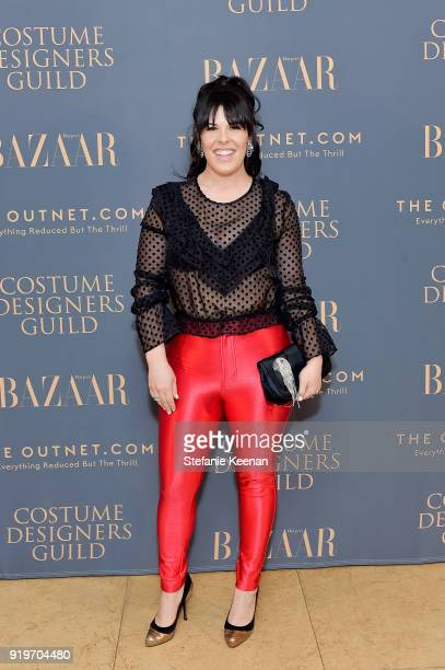 Alexis Martin Woodall attends Harper's BAZAAR and the CDG Celebrate Top Costume Designers and Nominees of the 20th CDGA with an Event Presented by...