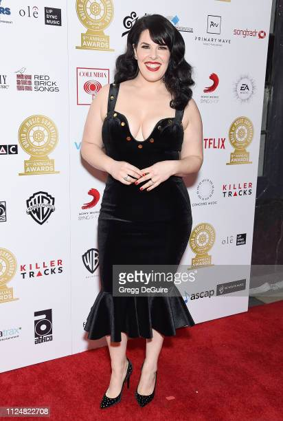 Alexis Martin Woodall attends the 9th Annual Guild Of Music Supervisors Awards at The Theatre at Ace Hotel on February 13 2019 in Los Angeles...