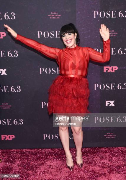 Alexis Martin Woodall attends the New York premiere of FX series 'Pose' at Hammerstein Ballroom on May 17 2018 in New York City