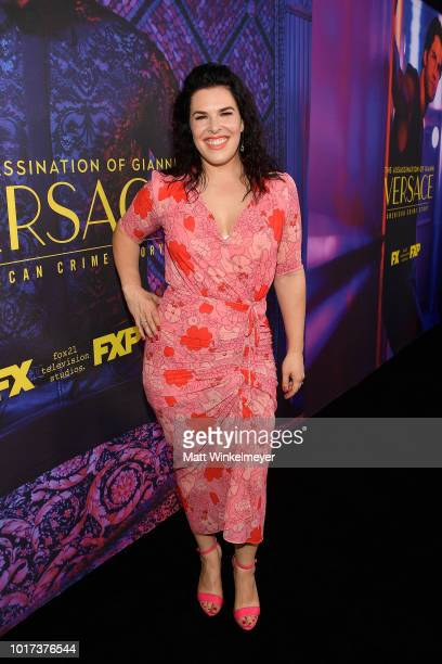 Alexis Martin Woodall attends the panel and photo call for FX's 'The Assassination of Gianni Versace American Crime Story' at Los Angeles County...
