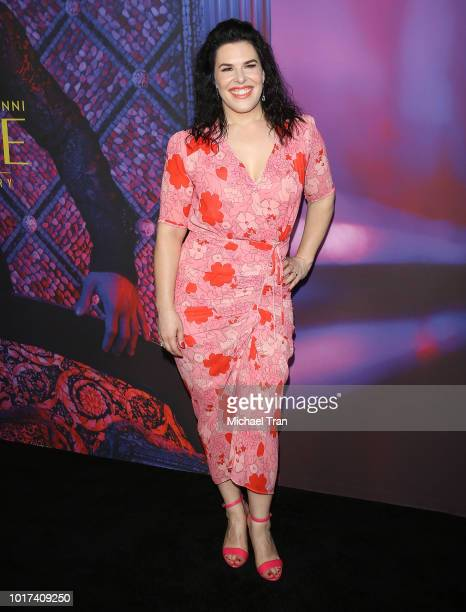 Alexis Martin Woodall attends the photo call for FX's 'The Assassination Of Gianni Versace American Crime Story' held at Los Angeles County Museum of...