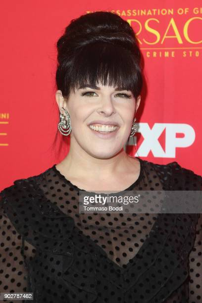 Alexis Martin Woodall attends the Premiere Of FX's 'The Assassination Of Gianni Versace American Crime Story' at ArcLight Hollywood on January 8 2018...