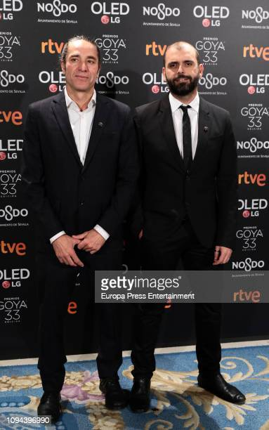 Alexis Morante attends the candidates to Goya Cinema Awards 2019 dinner party at the Royal Theatre on January 14 2019 in Madrid Spain