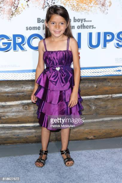 Alexis Nicole Sanchez attends COLUMBIA PICTURES Present a Special Screening of GROWN UPS at Ziegfeld Theatre on June 23 2010 in New York City