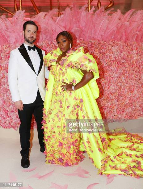 Alexis Ohanian and Serena Williams attend the 2019 Met Gala Celebrating Camp: Notes on Fashion at Metropolitan Museum of Art on May 06, 2019 in New...