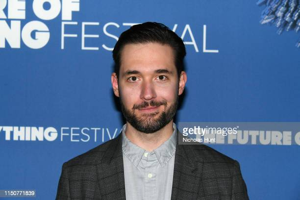 Alexis Ohanian attends The Wall Street Journal's Future Of Everything Festival at Spring Studios on May 21, 2019 in New York City.