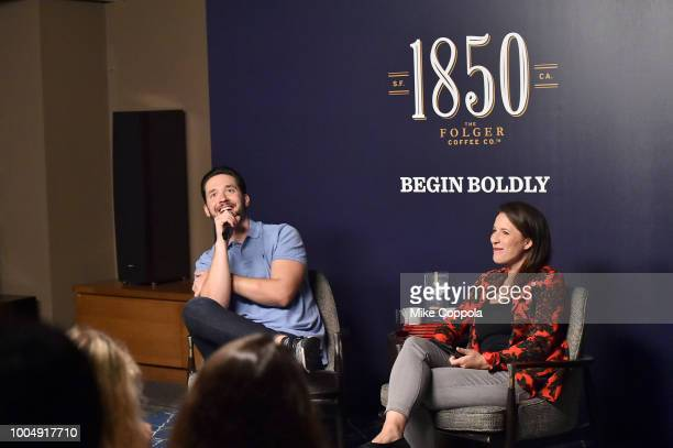 Alexis Ohanian partners with 1850 Brand Coffee to host up close and personal conversation as part of exclusive Bold Pioneer Session at product launch...