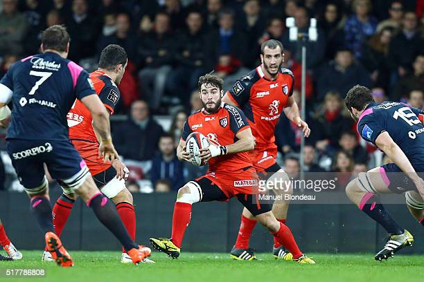 Alexis Palisson of Toulouse during the French Top 14 rugby union match between Stade Toulousain v Stade Francais Paris at Stadium Municipal on March...