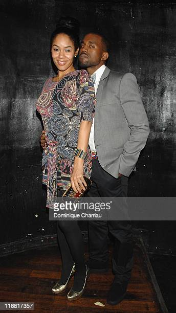 Alexis Pfeiffer and Kanye West attend New York New York in Paris for the Grandlifenyccom Opening Ceremony presented by Derek Blasberg at the Paris...