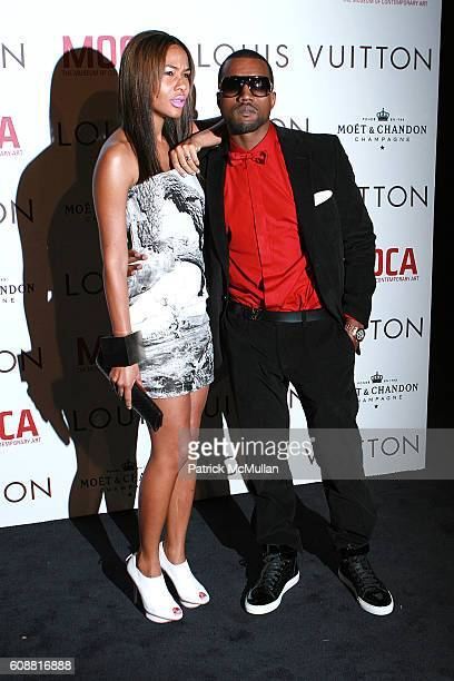Alexis Phifer and Kanye West attend Louis Vuitton Gala Celebrating the Takashi Murakami Exhibition at Geffen Contemporary at Moca on October 28 2007...