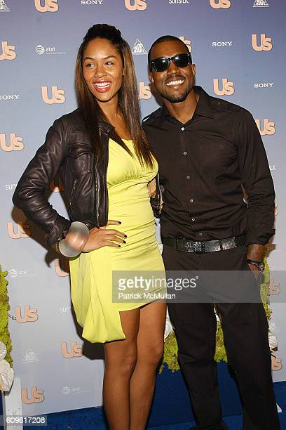Alexis Phifer and Kanye West attend US Weekly Presents US' Hot Hollywood 2007 at Opera on September 26 2007 in Hollywood CA
