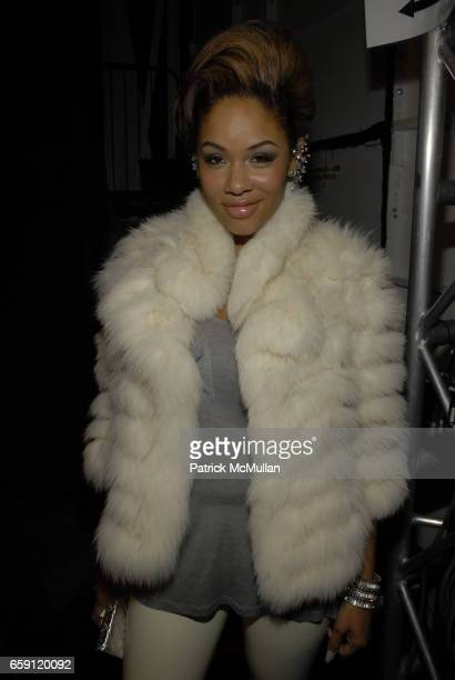 Alexis Phifer attends ZAC POSEN Fall 2009 Collection at The Tent on February 19 2009 in New York City