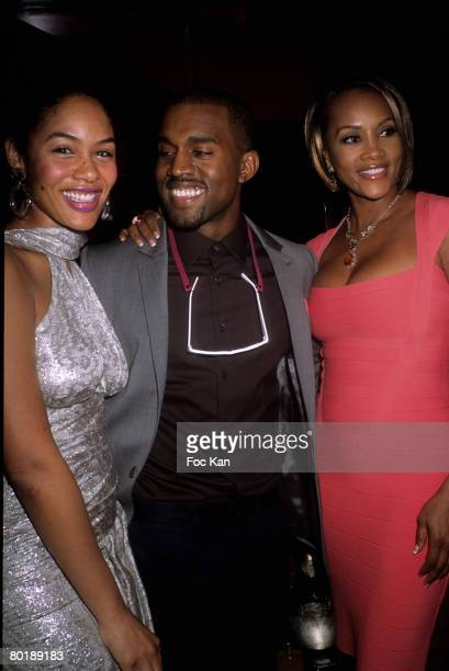 Alexis Phifer Kanye West and Vivica Fox attend the Roberto Cavalli PFW Fall Winter 2008/09 Just Cavalli Shop Opening After Party at the Crazy Horse...