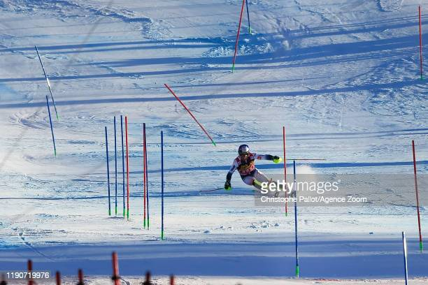 Alexis Pinturault of France competes during the Audi FIS Alpine Ski World Cup Men's Alpine Combined on December 29, 2019 in Bormio Italy.